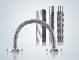 Flexible Metal Hoses Product Overview Image Text